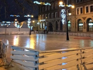 Уникальный каток на площади Маркина откроется 16 декабря