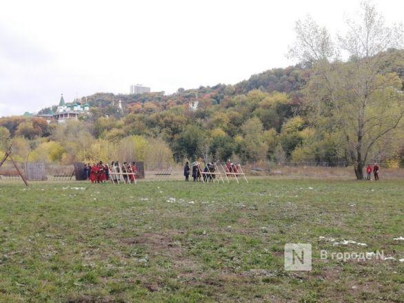 Нижегородцы стали участниками средневекового сражения  - фото 5