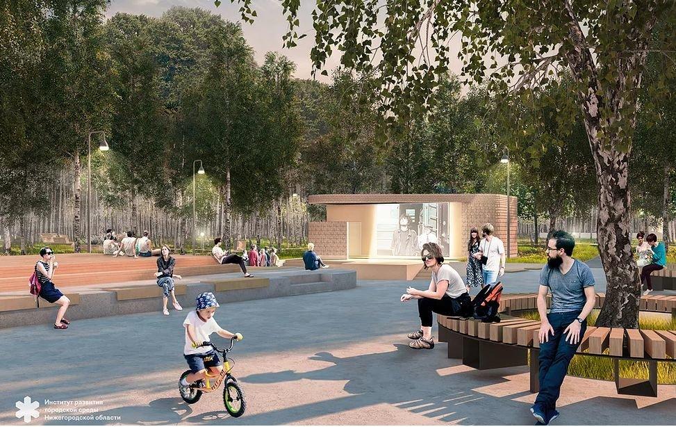 Световые инсталляции и площадка для йоги появятся в парке имени Пушкина - фото 2