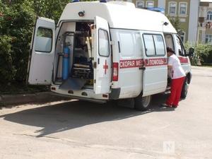 16-летний мотоциклист без прав попал в больницу в результате ДТП в Семенове