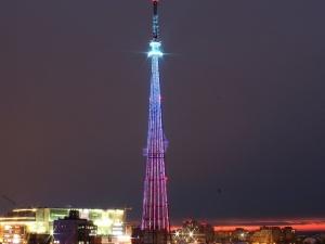 Праздничную подсветку включат на нижегородской телебашне в честь Дня радио