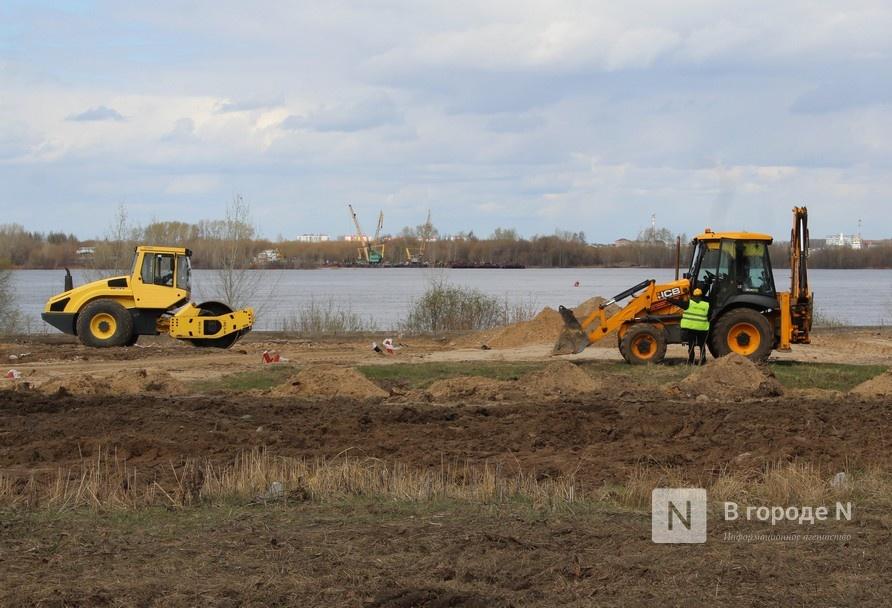 Благоустройство набережной Гребного канала завершится в конце июня - фото 1
