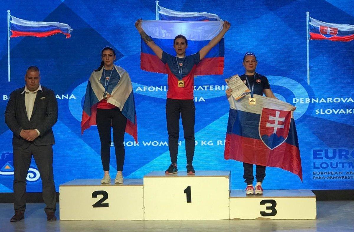 Нижегородская спортсменка стала победительницей соревнований по армрестлингу в Греции - фото 1