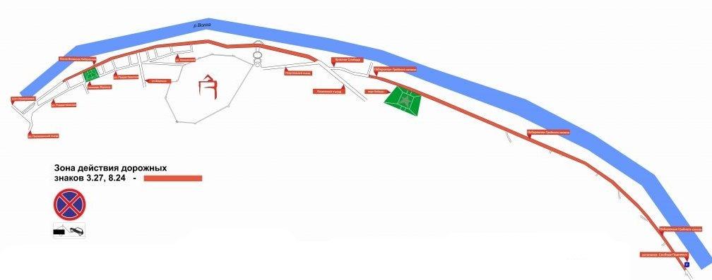 Остановку транспорта на Нижне-Волжской набережной и Гребном канале ограничили из-за коронавируса - фото 2