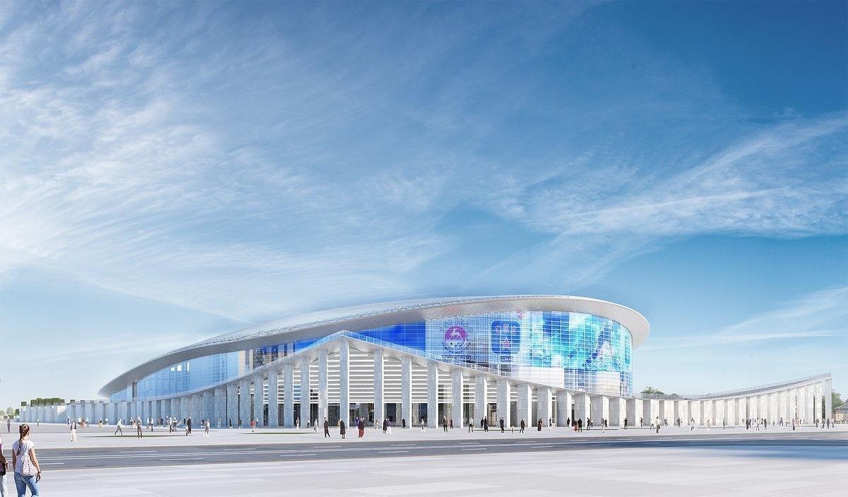 Средства на строительство ледовой арены на Стрелке выделят через два года - фото 1