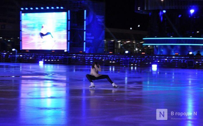 Ирина Слуцкая с ледовым шоу открыла площадку «Спорт Порт» в Нижнем: показываем, как это было - фото 29