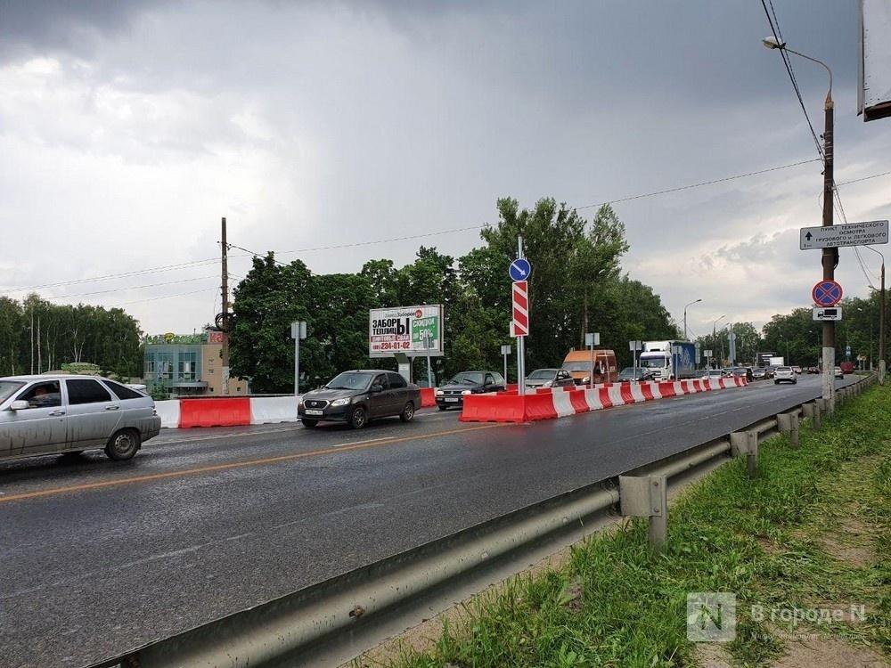 Серьезные пробки образовались на въезде в Нижний Новгород - фото 1