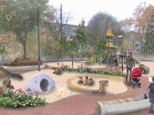 Памятник семье и беговая дорожка: как изменится сквер на улице Бекетова