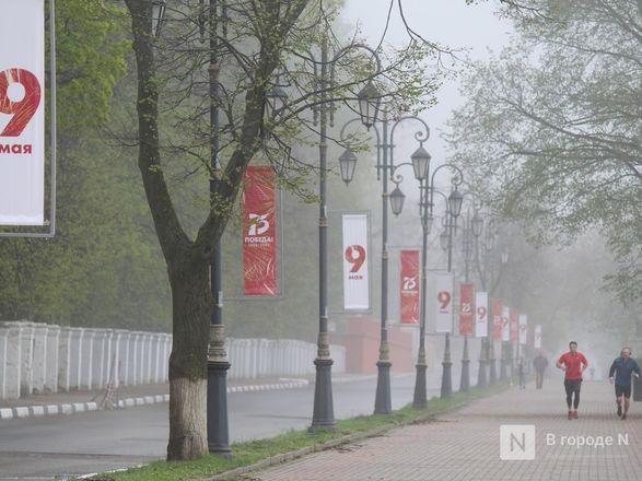 Пустые улицы и «Бессмертный полк» на балконах - фото 57