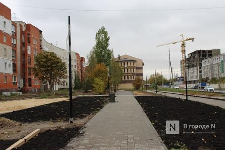Новый подрядчик начал укладку брусчатки в сквере на улице Гордеевской в Нижнем Новгороде