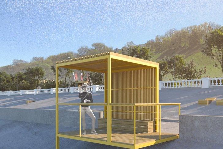 Арт-объект «Столица закатов» и сцена на воде: как преобразится Нижне-Волжская набережная - фото 10