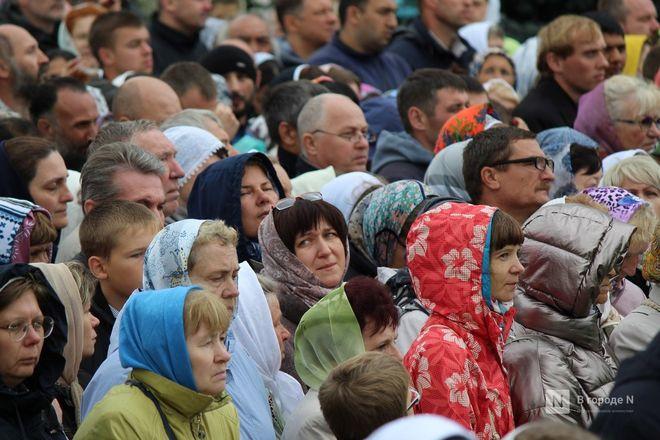 Патриарх Кирилл возглавил божественную литургию в Дивееве  - фото 10