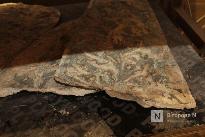 Реставрация исторической лепнины началась в нижегородском Дворце творчества - фото 32