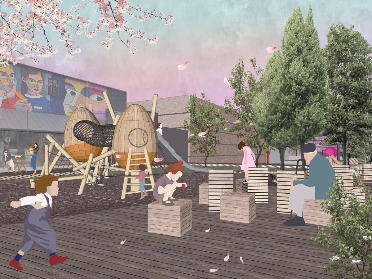 Нижегородцы обеспокоены небезопасностью детской площадки в сквере Свердлова - фото 3