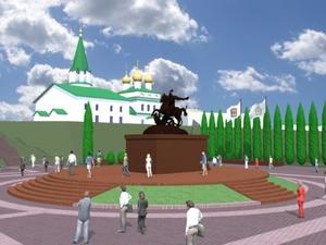 На Бору заложат сквер с памятником Георгию Победоносцу