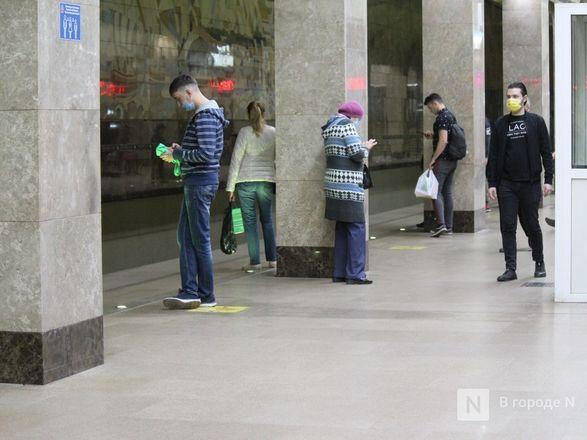 200 пассажиров нижегородского метро получили бесплатные маски - фото 9
