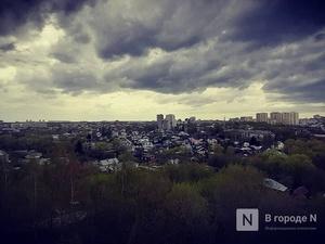 Дожди и грозы ждут нижегородцев в выходные