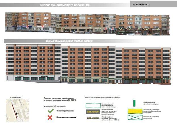 Мэрия Нижнего Новгорода утвердила архитектурно-художественную концепцию улицы Ошарской - фото 5
