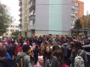 После эвакуации нижегородских школьников размещали в детсадах и поликлиниках