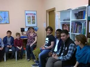 Иностранные студенты ННГУ посетили лагерь «Спикер»