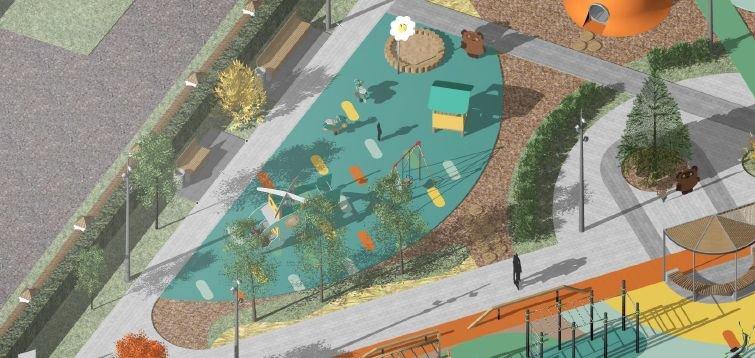 Стало известно, как будет выглядеть детская площадка в Дубенках - фото 7
