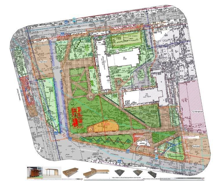 Авангардистский сад и скейт-парк: стало известно, как будет выглядеть площадь Советская - фото 4