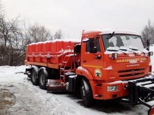 С улиц Нижнего Новгорода вывезено более 10 тысяч кубометров снега
