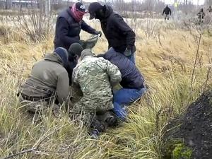 Задержание 18 террористов ИГ в России попало на видео