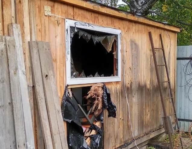 Пожарные назвали причину гибели жителя Богородска в загоревшейся бытовке - фото 1