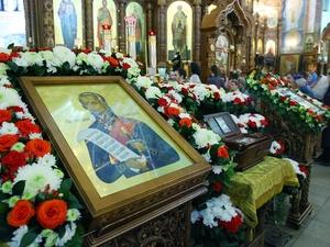 В Нижний Новгород прибыл ковчег с частицей мощей святого Феодора Ушакова