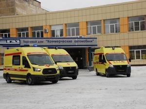 Больницы Нижегородской области получили 24 автомобиля скорой помощи