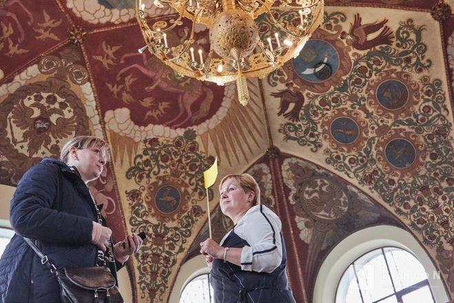 Победители проекта «В городе N» побывали на эксклюзивной экскурсии в Госбанке на Большой Покровской - фото 40