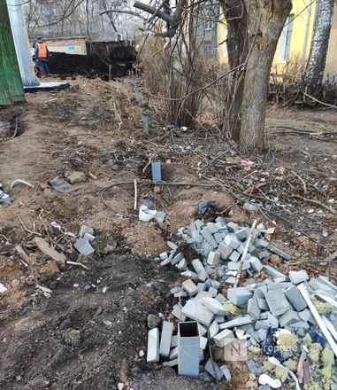 Строители инфекционного госпиталя раскурочили двор жителям с улицы Генкиной - фото 14