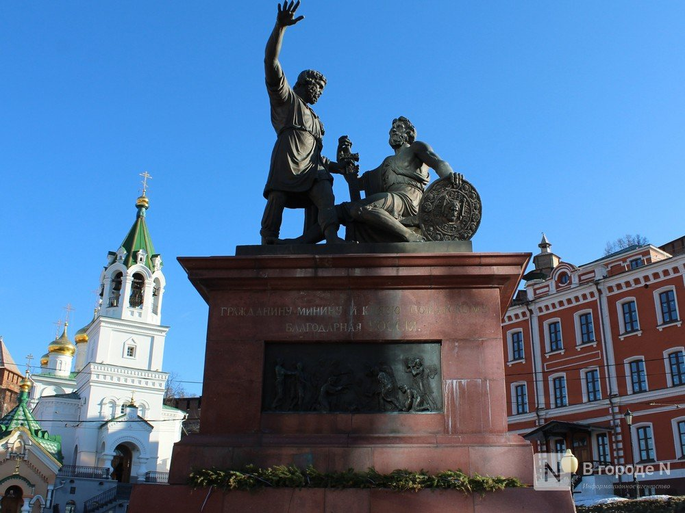 Памятник Минину и Пожарскому планируется передать Нижегородской области - фото 1