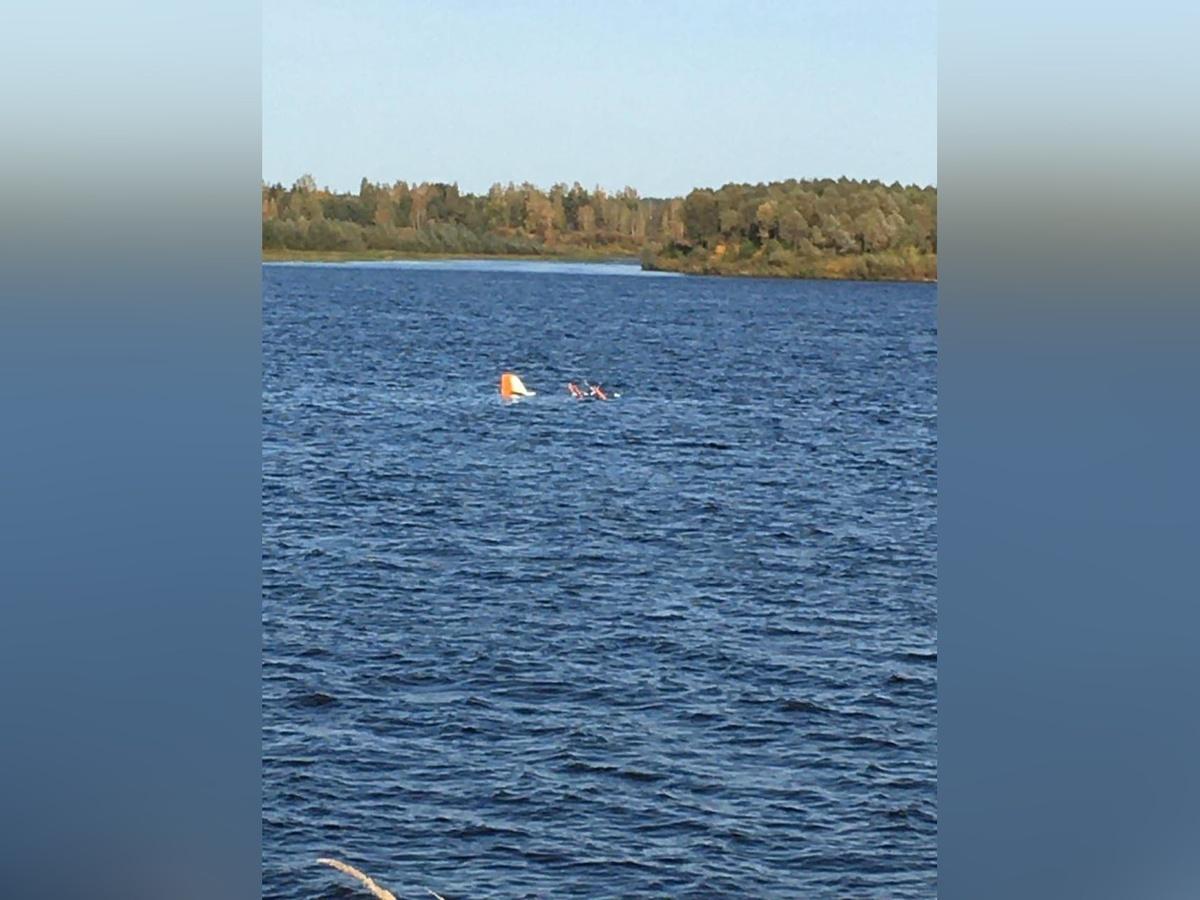 Легкомоторный самолет упал в реку в Кстовском районе - фото 1