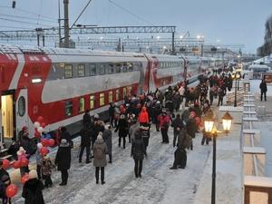 Прибытия двухэтажных поездов на Московский вокзал в текущем году не ожидается