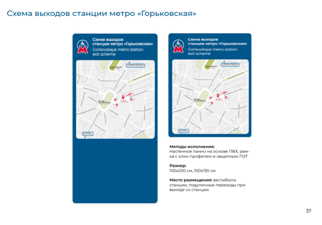 Систему навигации поменяют на четырех станциях нижегородского метро - фото 6