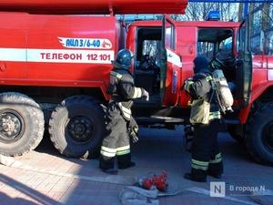 Крупный пожар уничтожил здание в Сеченовском районе