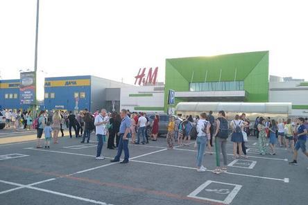 ТЦ «Седьмое небо» срочно эвакуируют в Нижнем Новгороде