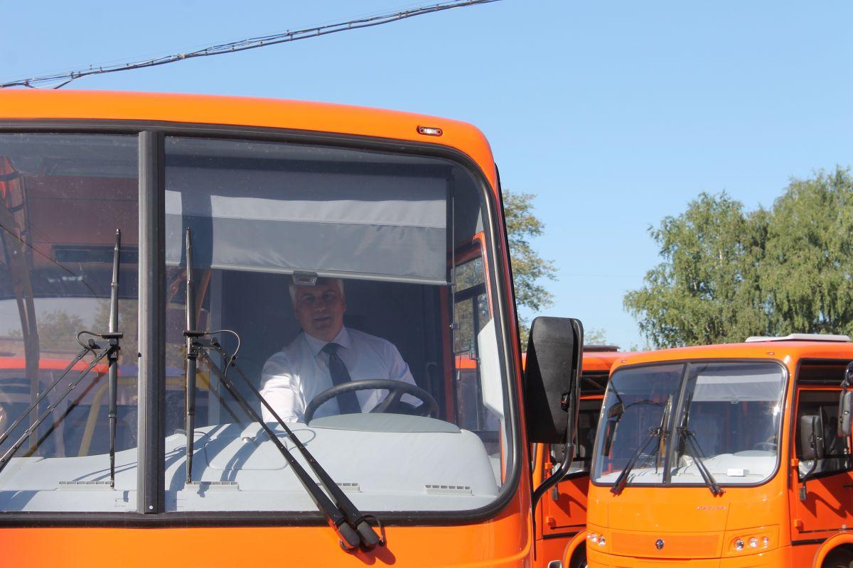 Надороги областного центра вскором времени выйдут новые автобусы «Векторы»