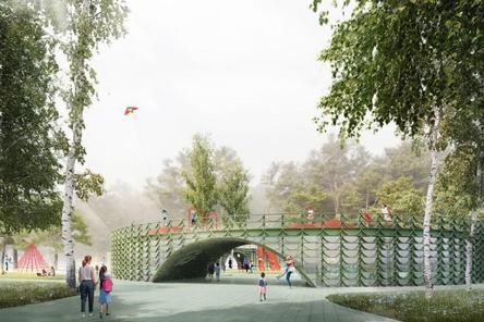 Детский центр в форме «бублика» появится в «Швейцарии»