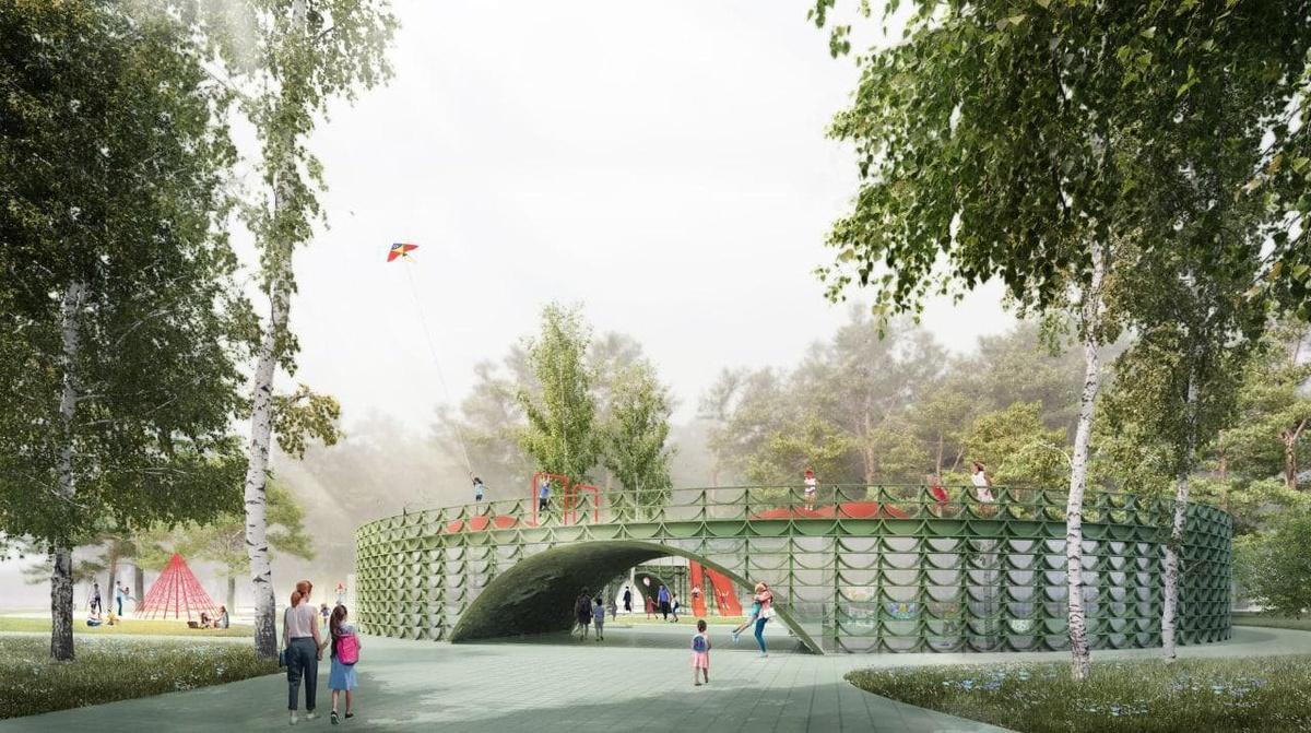 Детский центр в форме «бублика» появится в «Швейцарии» - фото 1