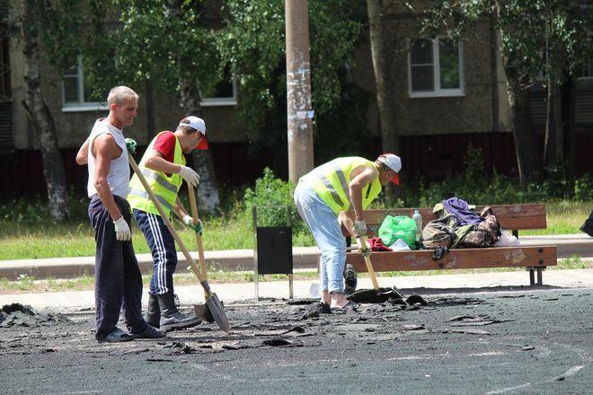 Не прошло и года: нижегородские скверы нужно благоустраивать заново - фото 21