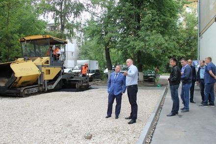 Дворы Ленинского района отремонтируют за 20 млн рублей