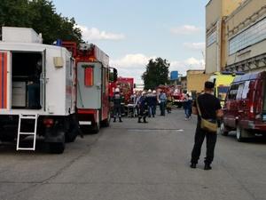 Пожар произошел в прессовом цехе Горьковского автозавода