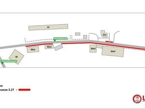 Парковаться запретят на улице Ковровской с 20 ноября